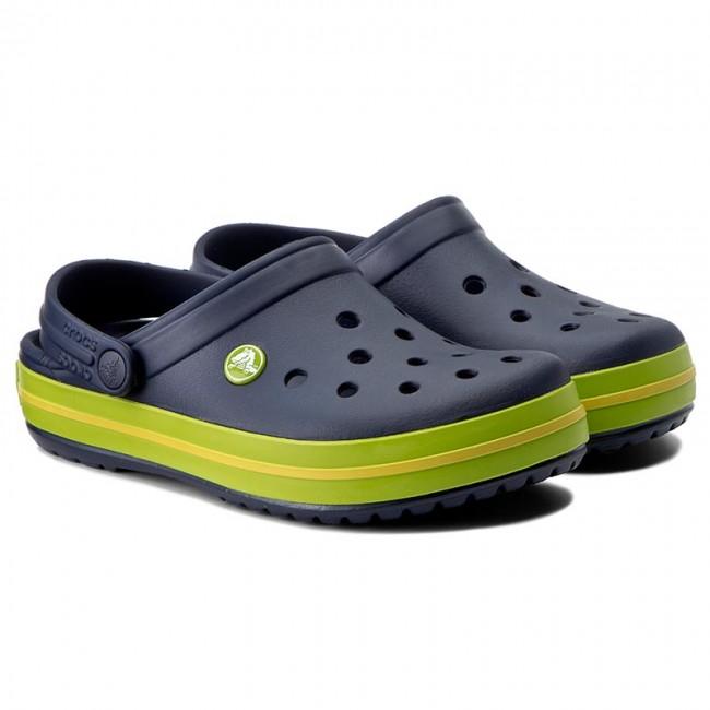 Papucs CROCS - Crocband 11016 Navy Volt Green Lemon - Hétköznapi papucsok -  Papucsok - Papucsok és szandálok - Női - www.ecipo.hu 7cd54631ca