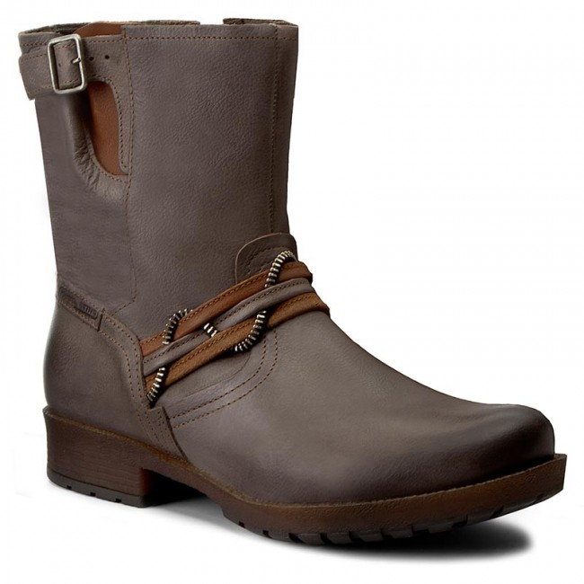 Magasított cipő CAMEL ACTIVE - Taiga 835.71.02 Grey Brandy ... 09d3b7873d