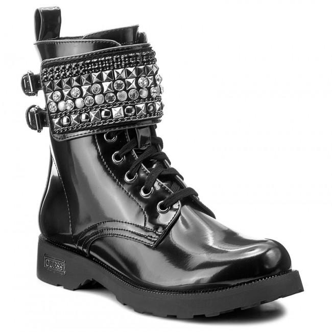 Magasított cipő GUESS - Nina FLINA3 ELE10 BLUE - Magasított cipők ... 2697e37e00