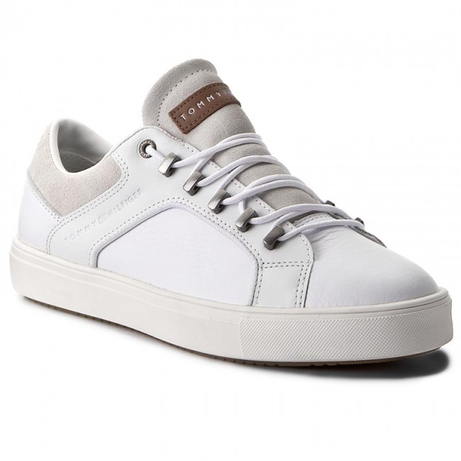 Sportcipő TOMMY HILFIGER - Moon 2A1 FM0FM00724 White 100 - Sneakers ... a92fe2bd98