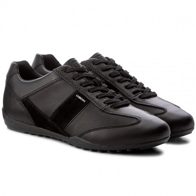 Sportcipő GEOX - U Wells A U74T5A 085ME C9999 Black - Sneakers - Félcipő -  Férfi - www.ecipo.hu c8602e2cad