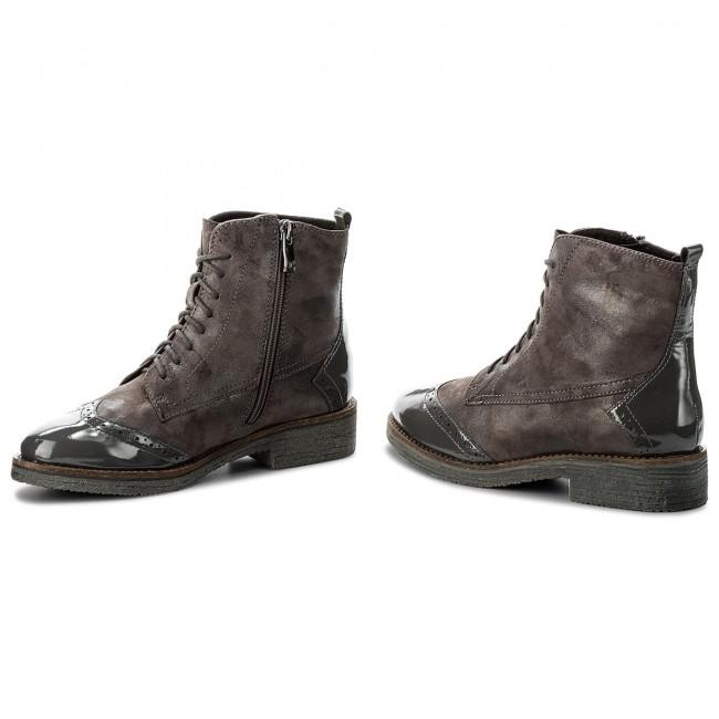 Magasított cipő CAPRICE - 9-25203-29 Anthraci.Comb 235 - Magasított ... f3166f114a