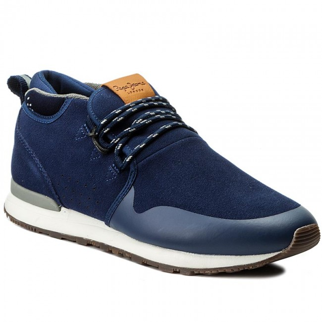 Sportcipő PEPE JEANS - Boston Walk PMS30380 Marine 585 - Sneakers ... 38b587bb71