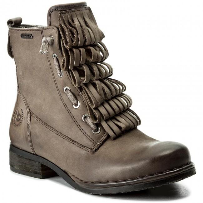Magasított cipő BUGATTI - 421-31830-1000-1100 Dark Grey - Magasított ... eb6ddfc682