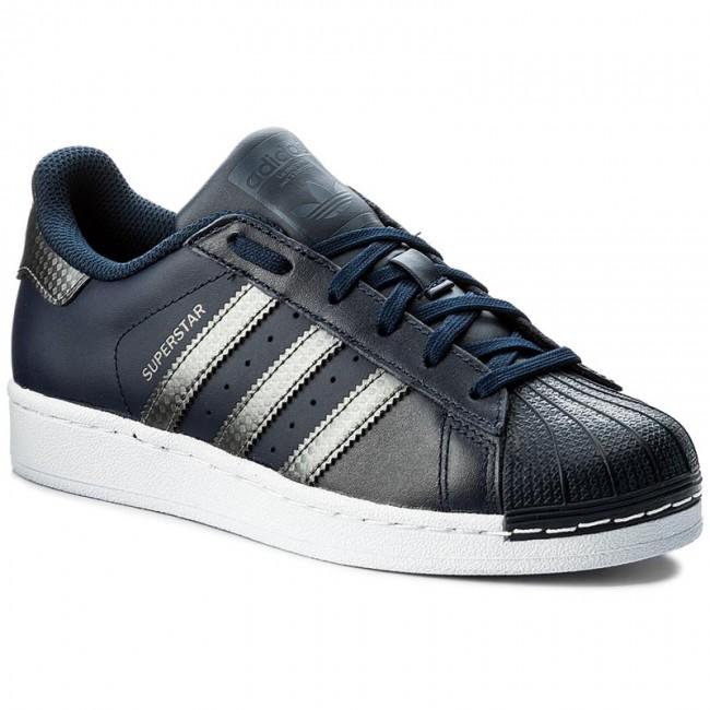 Cipő adidas - Superstar J BZ0359 Conavy Ngtmet Conavy - Fűzős ... 281163d633