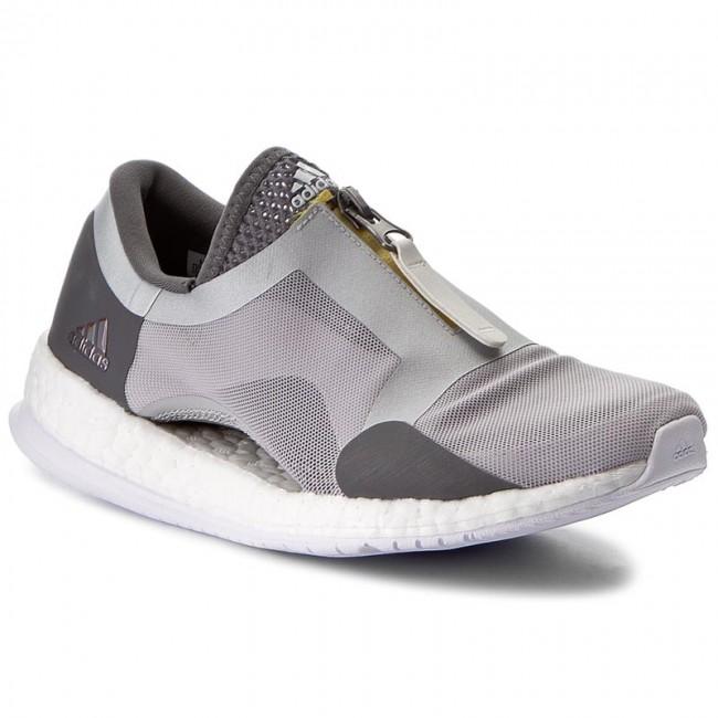 a7cf042643 Cipő adidas - PureBoost X Tr Zip BB3289 Gretwo/Silvm - Fitnesz ...