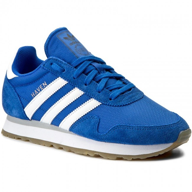 58de118d6cae Cipők adidas - Haven BY9716 Blue/Ftwwht/Gum3 - Sneakers - Félcipő ...