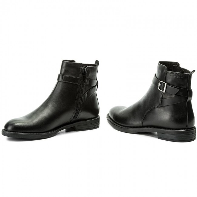 Magasított cipő VAGABOND - Amina 4403-001-20 Black - Magasított ... 9cfef00186