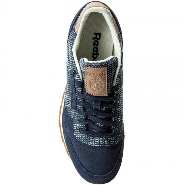 quality design 3e0f2 41eb2 Cipő Reebok - Cl Leather Ebk BS7851 Smoky Indigo Cloud Grey - Sneakers -  Félcipő - Férfi - www.ecipo.hu