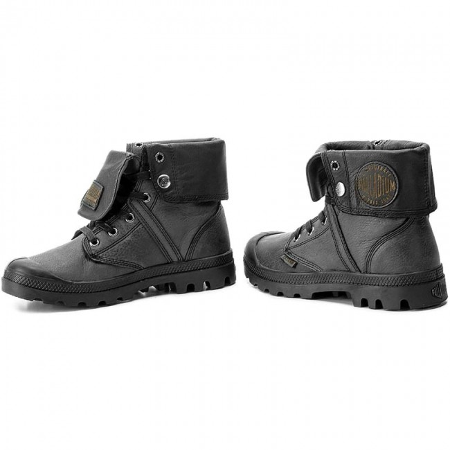 Bakancs PALLADIUM - Pallabrouse Baggy L2 73080-008-M Black ... fb2cefc23f