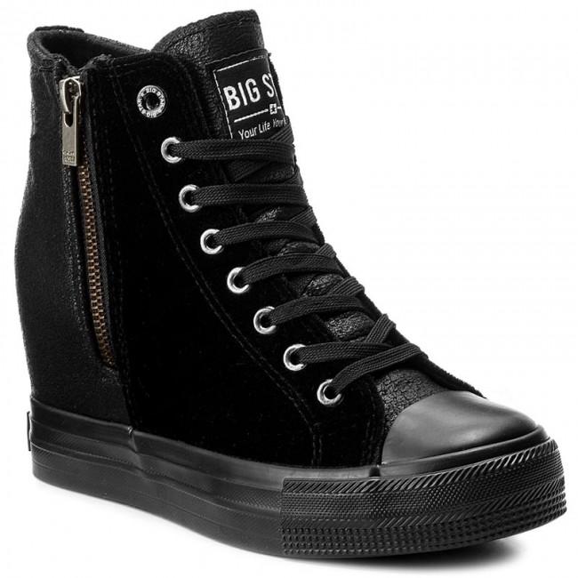 Sportcipő BIG STAR - Y274063 Black - Sneakers - Félcipő - Női - www ... 5a1aa6694e