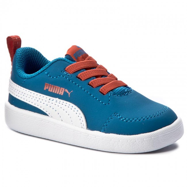 Sportcipő PUMA - Courtflex Inf 362651 07 Mykonos Blue Puma White ... 2acac5725a