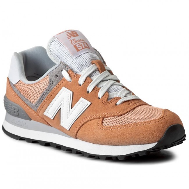 Sportcipő NEW BALANCE - WL574CB Narancssárga - Sneakers - Félcipő ... 1f8e315e2b