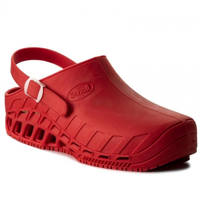 Papucs SCHOLL - Clog Evo F26563 1051 350 Red - Hétköznapi papucsok ... c3de3c18f7