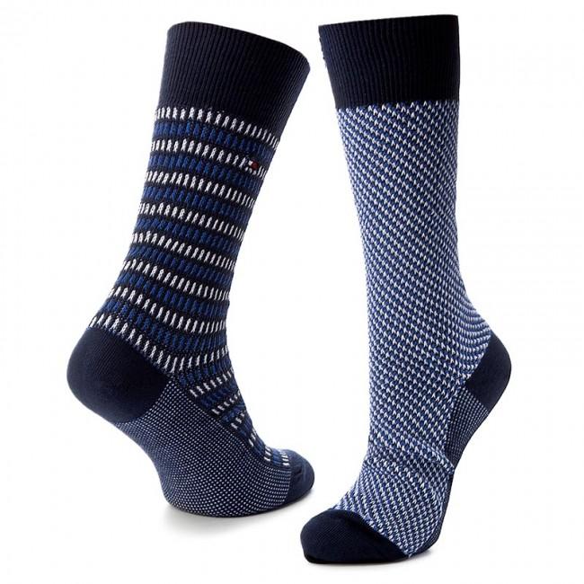 Két pár hosszú szárú férfi zokni TOMMY HILFIGER - 472007001 Dark ... f1198b6611