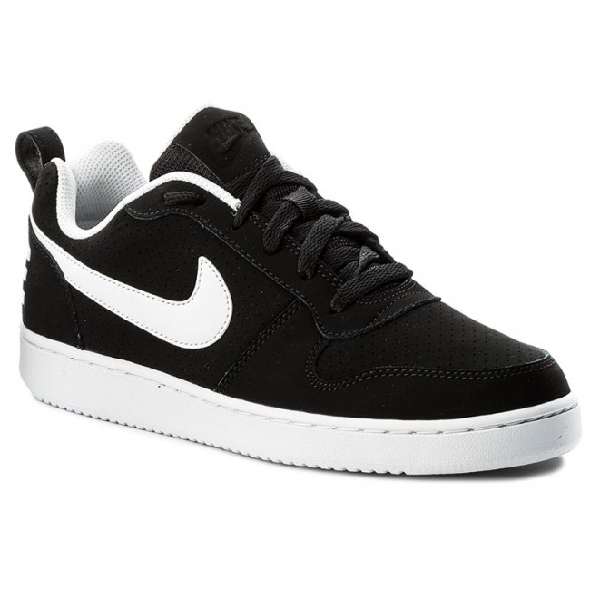 c99cd43051 Cipők NIKE - Court Borough Low 838937 010 Black/White - Sneakers ...