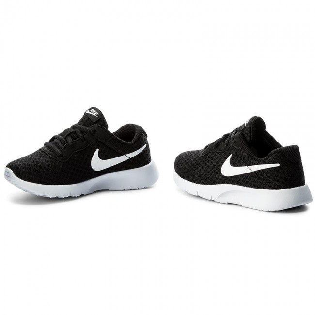 Cipők NIKE - Tanjun 818382 011 Black White - Fűzős - Félcipő ... e4296aa908
