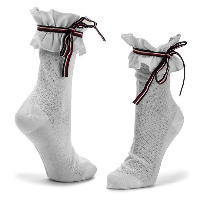 27c5bd20dc Hosszú női zokni TOMMY HILFIGER - 383008001 White 300 - Magas - Női ...
