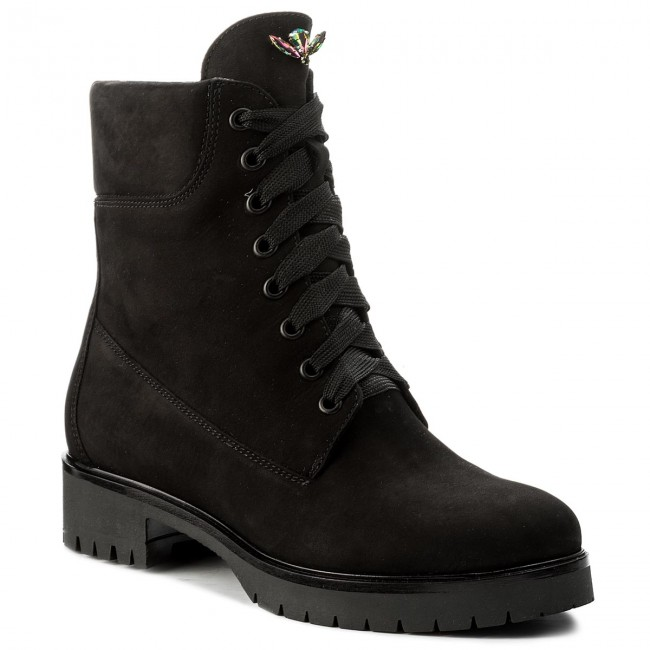 Magasított cipő GINO ROSSI - Donata DTH593-R78-AG00-9900-F 99 ... bacdceb9cd