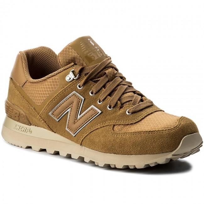 Sportcipő NEW BALANCE - ML574PKR Żółty - Sneakers - Félcipő - Férfi ... 644456462a