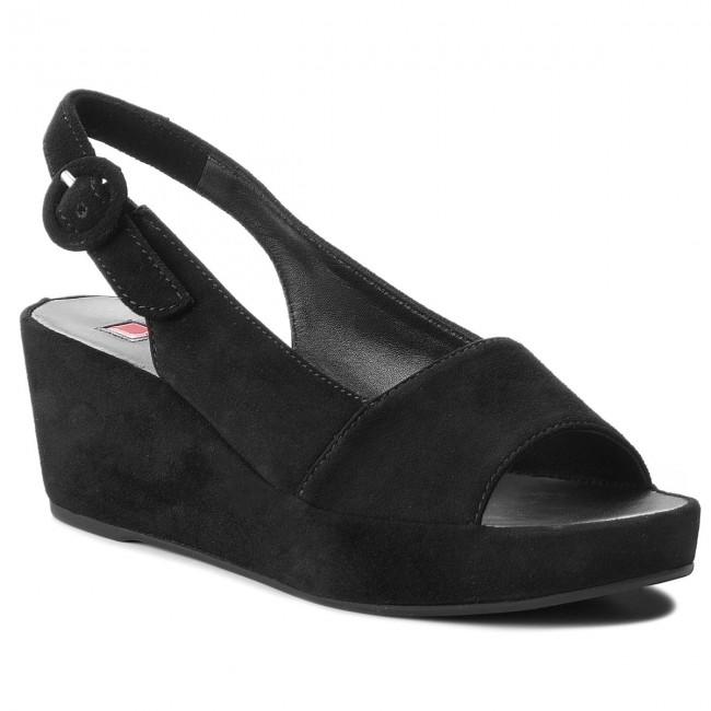 Szandál HÖGL - 5-103202 Black 0100 - Magasított sarkú cipők ... 085c9b3cdf