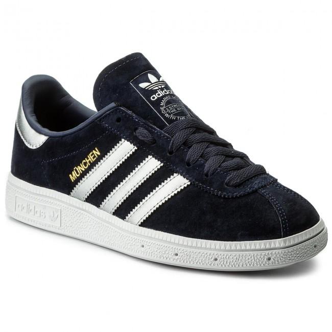 Cipő adidas - Munchen CQ2321 Trablu Msilve Ftwwht - Sneakers ... eb2b794412