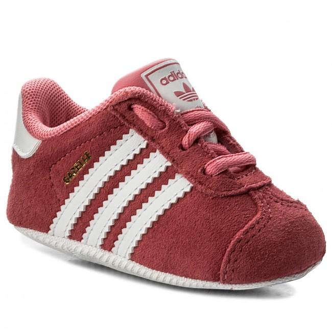 6101b256892e Cipő adidas - Gazelle Crib CM8228 Chapnk/Ftwwht/Ftwwht - Fűzős ...