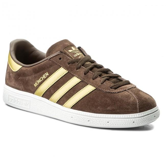 Cipő adidas - Munchen CQ2320 Brown Magold Ftwwht - Sneakers ... 63e4586beb
