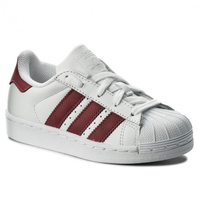 72b7b7e73e Cipő adidas - Superstar C CQ2723 Ftwwht/Ftwwht/Cblack - Fűzős ...