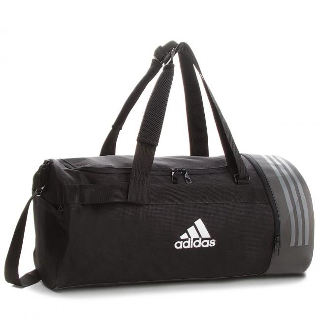 e0d2e754b1a7 Táska adidas - 3S CVRT DUF M CG1533 Black/White/White - Sporttáskák ...