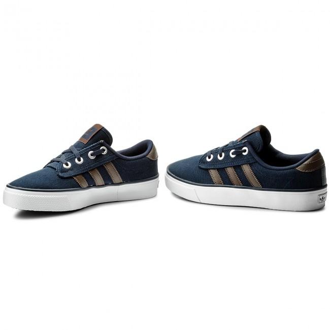 Cipő adidas - Kiel CQ1089 Conavy Brown Ftwwht - Sneakers - Félcipő ... 5cd39c5a64