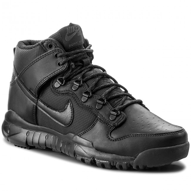 Cipő NIKE - Sb Dunk High Boot 536182 001 Black Black - Sneakers ... 5f2c13b340