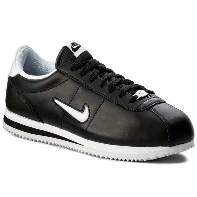 833238 Blackwhite Cortez Nike Cipő Basic 002 Sneakers Jewel thQdCsr