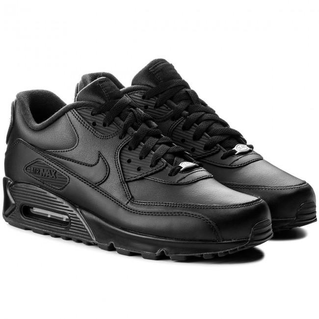 Cipő NIKE Air Max 90 Leather 302519 001 BlackBlack