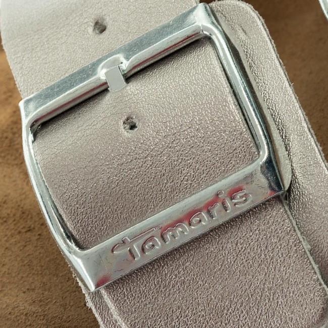 Papucs TAMARIS - 1-27525-20 Silver 941 - Hétköznapi papucsok ... 10f2895746