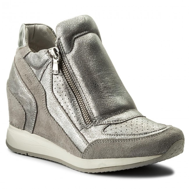 cb5bc88d5a Sportcipő GEOX - D Nydame A D620QA 0CD22 C1010 lt Grey - Sneakers ...