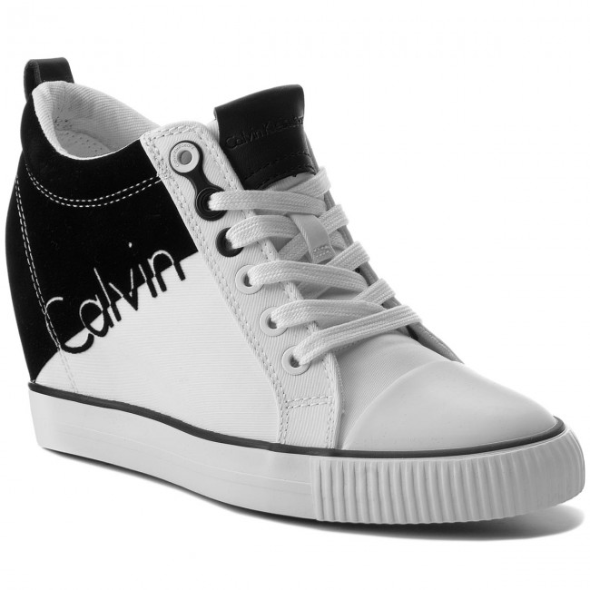 8ad32a6eec Sportcipő CALVIN KLEIN JEANS - Rory R0647 White/Black - Sneakers ...