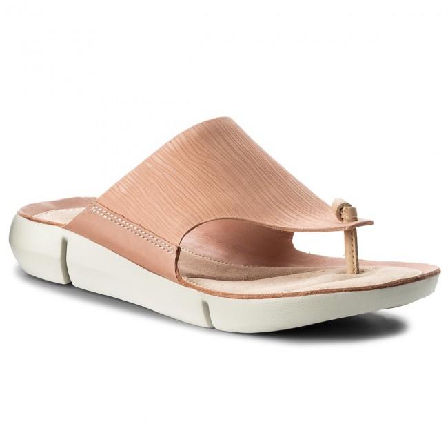 Vietnámi papucsok CLARKS - Tri Carmen 261317574 Pink Nubuck ... b50d51d434