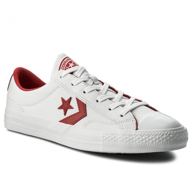 Tornacipő CONVERSE - Star Player Ox 159739C White Enamel Red White ... 4de29d735d