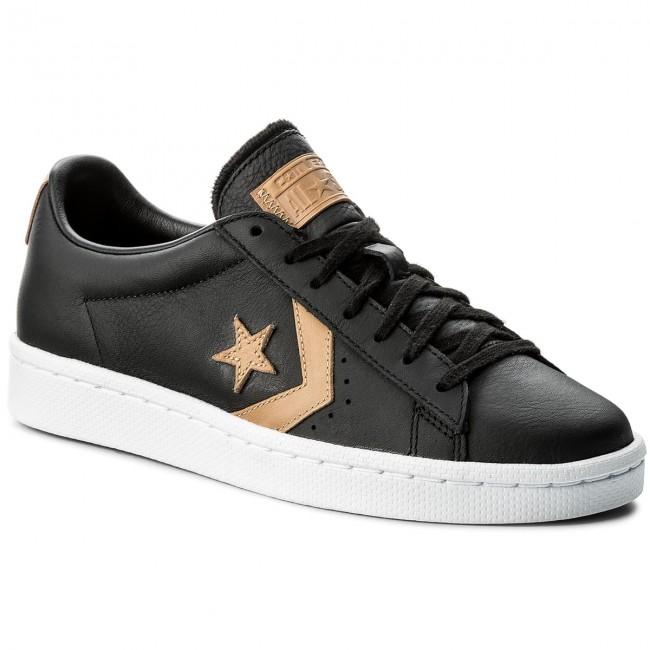 Sportcipő CONVERSE - Pl 78 Ox 155667C Black Tan Black - Sneakers ... f638c391e6