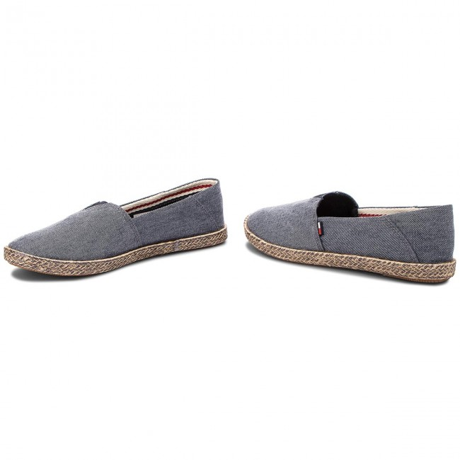 Espadrilles TOMMY HILFIGER - JEANS Flexible Casual Slip On EN0EN00200  Midnight 403