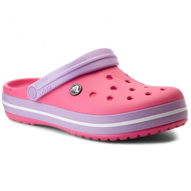 Papucs CROCS - Crocband 11016 Paradise Pink Iris - Hétköznapi ... b605c59f70
