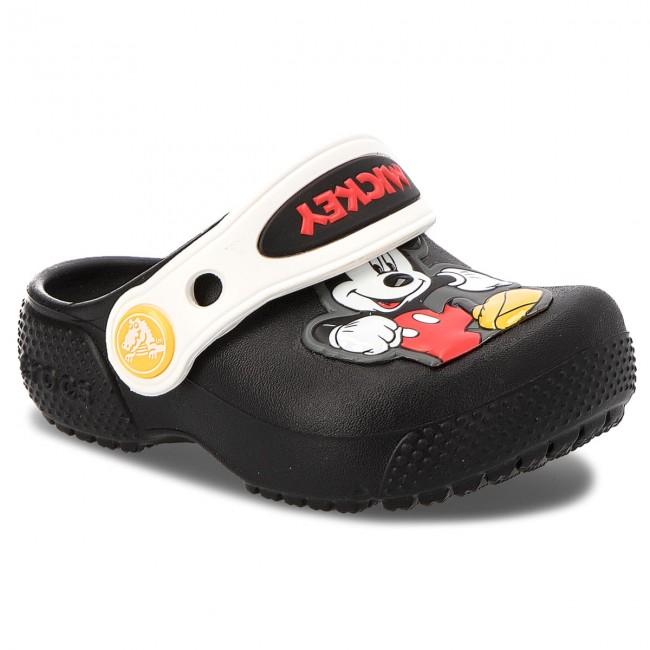 Papucs CROCS - Fun Lab Mickey Clog K 205113 Black - Papucsok ... 6e0095aca1