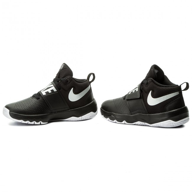 Cipő NIKE - Team Hustle D 8 (GS) 881941 001 Black Metallic Silver ... 3275918ff9