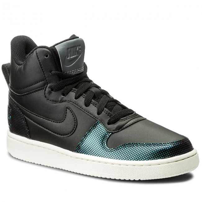 meet d9cc2 41d3b Cipő NIKE - Court Borough Mid Se 916793 001 Black Black Dark Grey