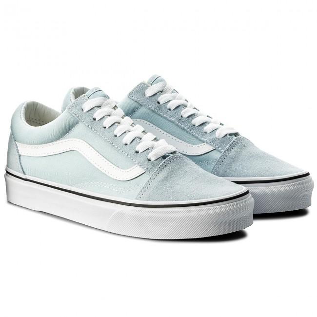 Teniszcipő VANS Old Skool VN0A38G1Q6K Baby BlueTrue White