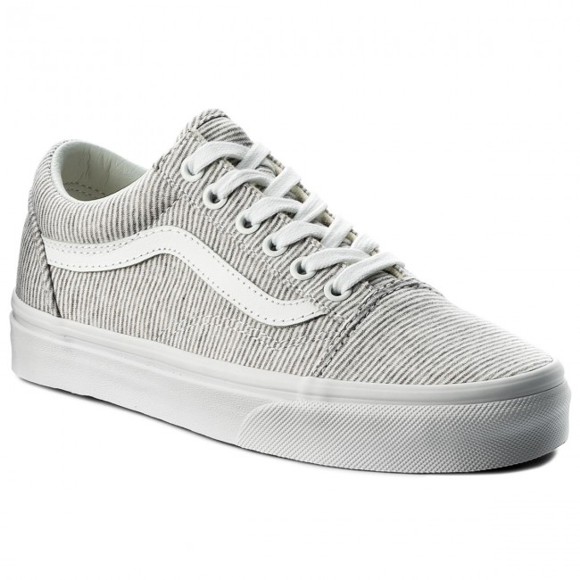 Teniszcipő VANS - Old Skool VN0A38G1I1F (Jersey) Gray True White ... de26af5032