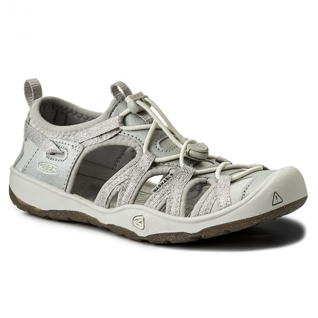 Szandál KEEN - Moxie Sandal 1018360 Silver - Szandálok - Papucsok és ... d8a0469ec8