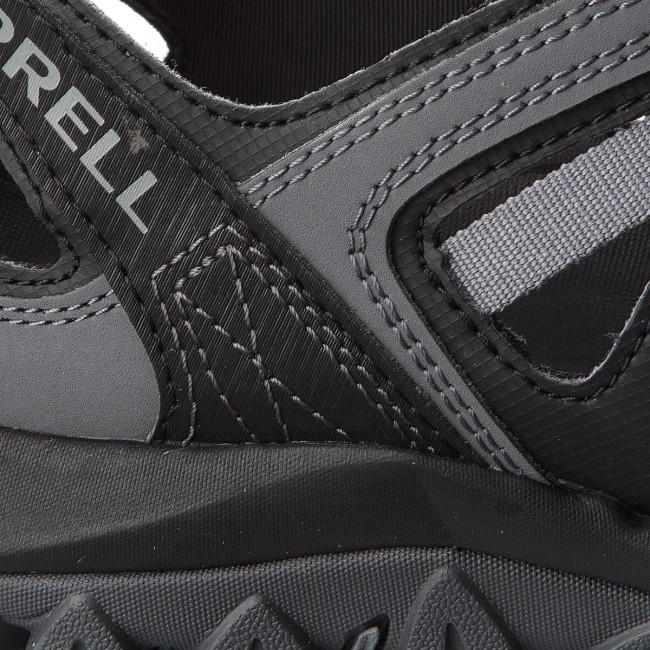 e7af361507 Bakancs MERRELL - Tetrex Crest Wrap J12845 Black - Túracipők ...
