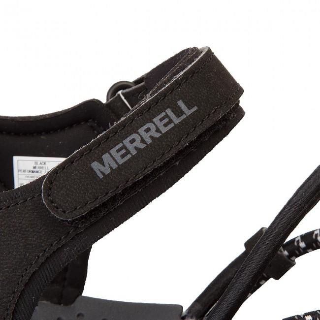 Szandál MERRELL - Sunstone Strap J93972 Black - Hétköznapi szandálok ... 1d54c83255